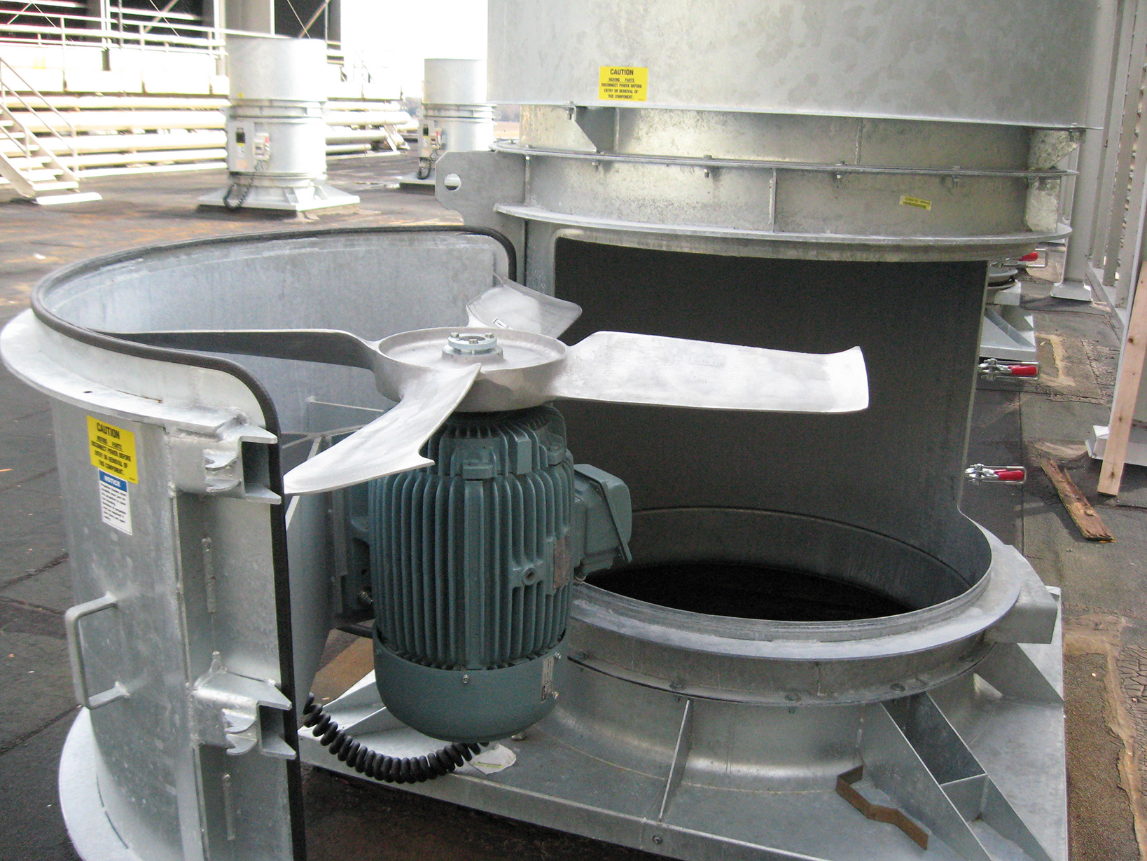 Swingout Roof Ventilator - Building Ventilation 2