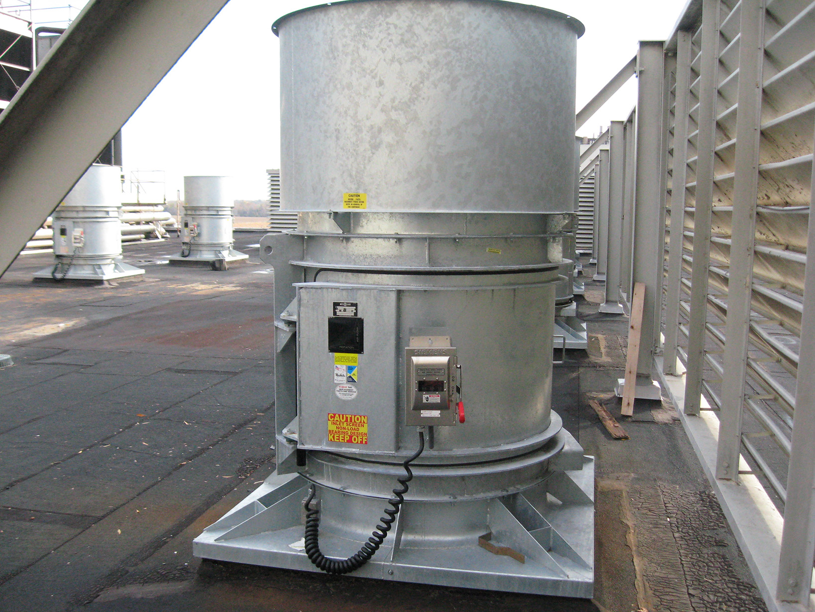 Swingout Roof Ventilator - Building Ventilation 3