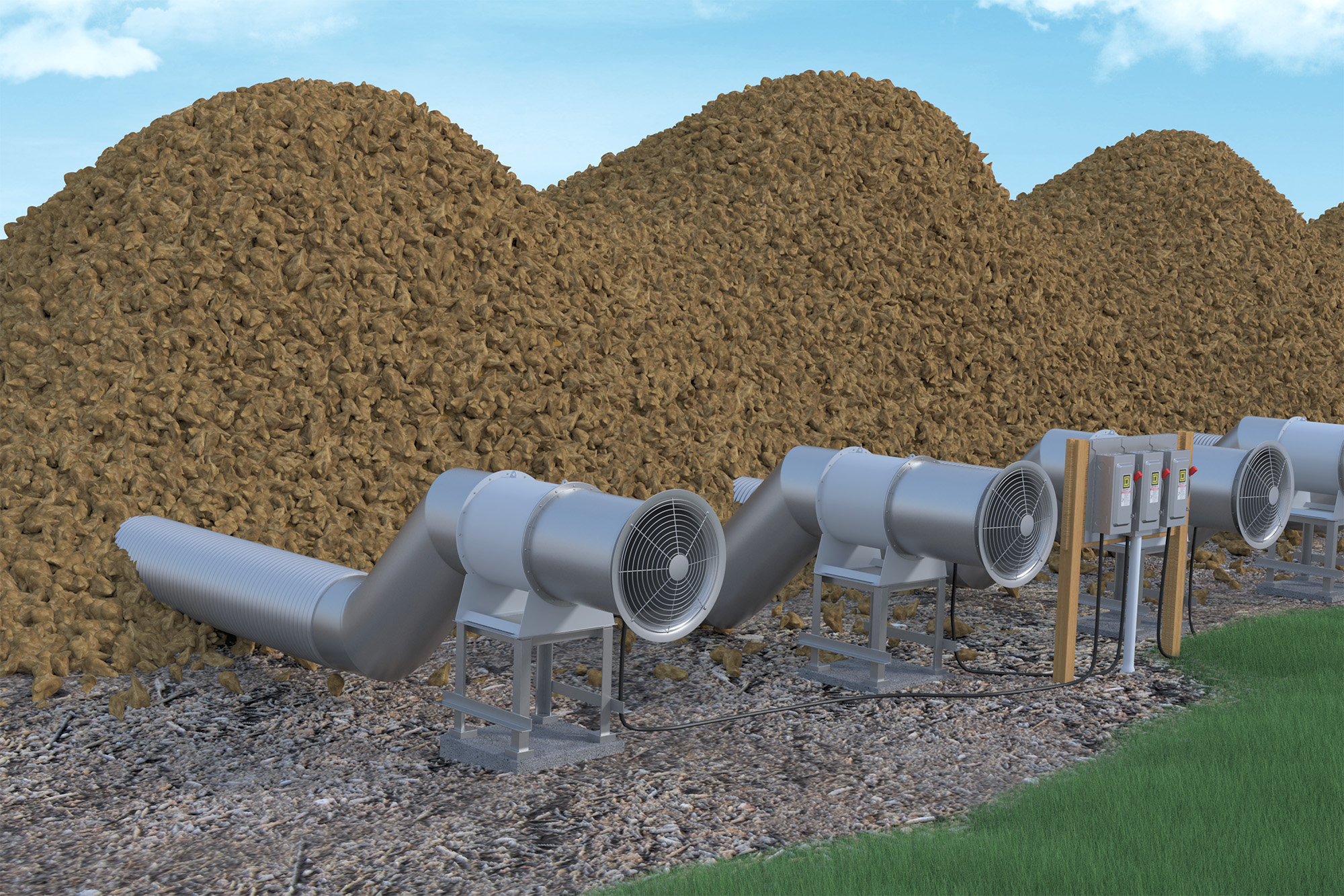TA Sugar Beet Storage (Application) Modo Rendering