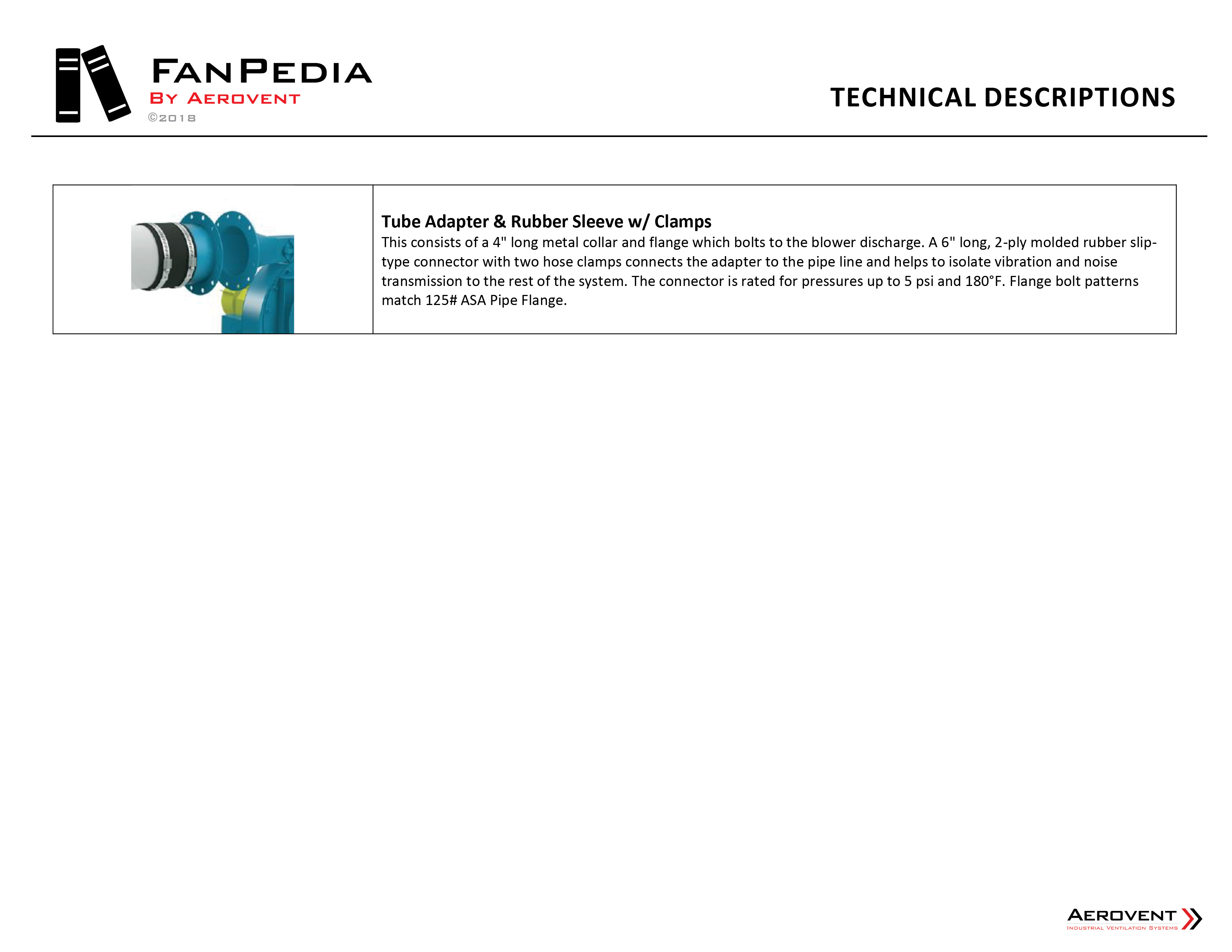 Technical Descriptions - AER FanPedia 25